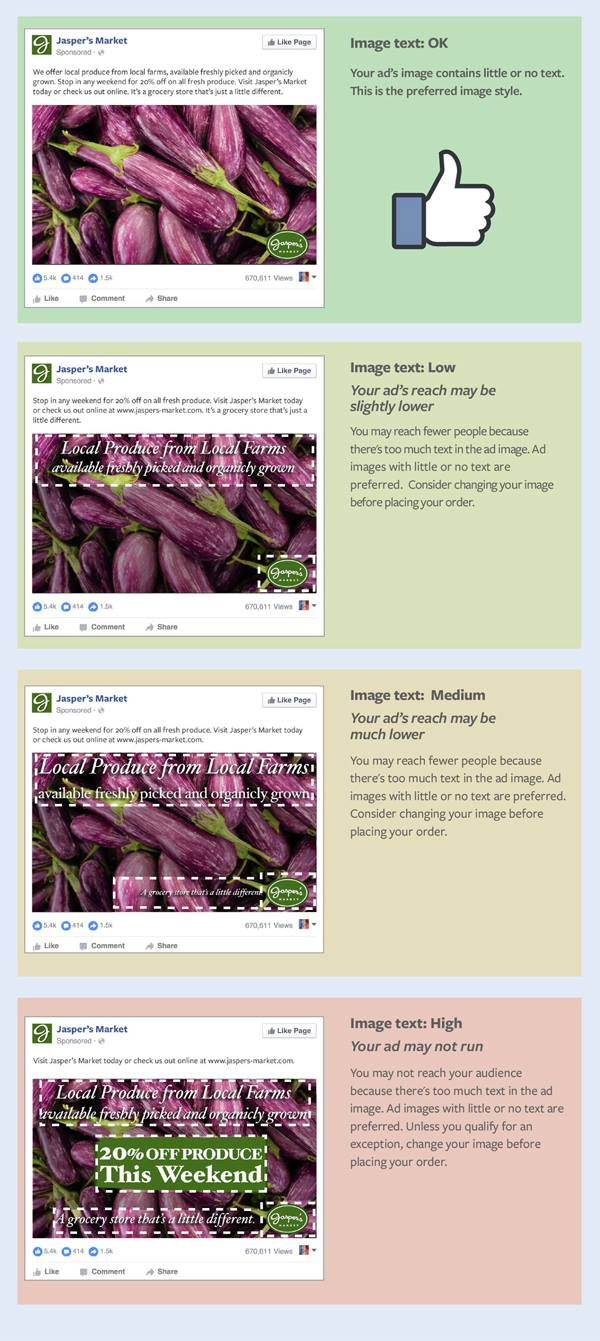create thumb-stopping Facebook ad images