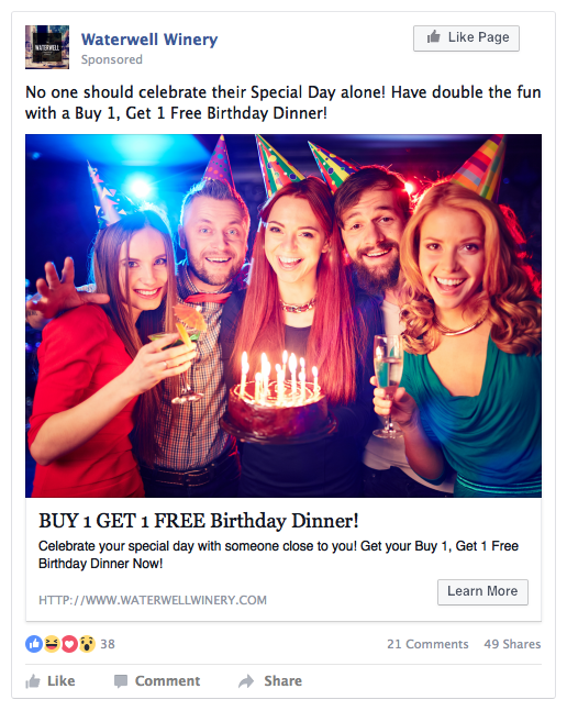 facebook ads for restaurant leads
