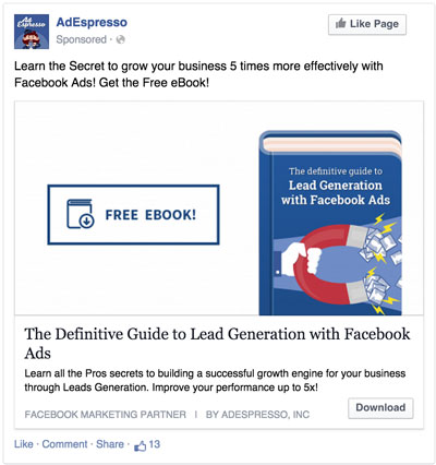how to boost facebook marketing opt-ins